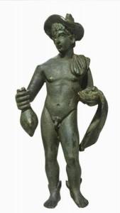 Mercurio Hermes col petàso catà a Abano