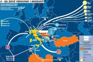 Migrasion verso la penixla talega 2015
