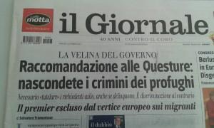 On crimine