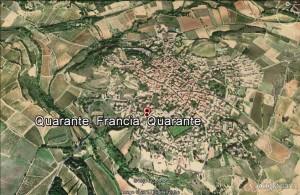 Quarante, Francia