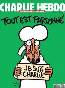 La copertina del prossimo numero di Charlie Hebdo, anticipat