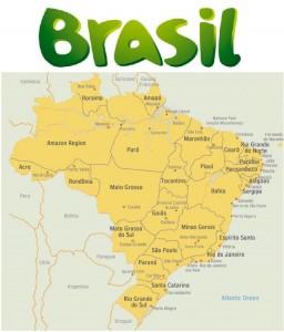 brasile-mappa
