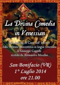 commedia Dante e Mocellin