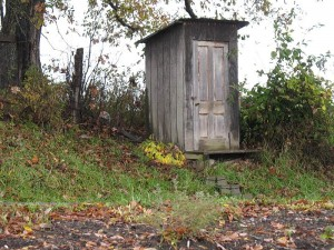 5 Amish Outhouse