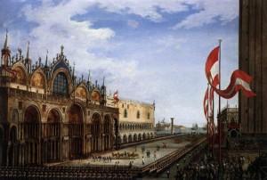 Ceco Bepe a Venesia ci i 4 cavaj