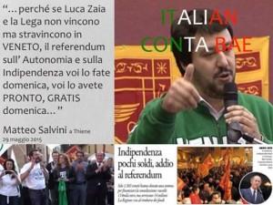 Salvini e Xaia