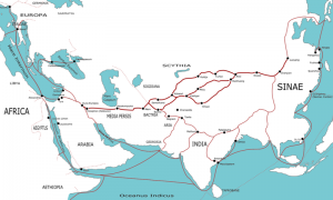 Transasia trade routes