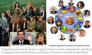 Voteghene lomè ono e el Veneto el sarà endependente