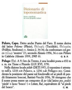 conp Peloro, Pelugo Utet