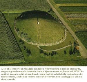La tomba principesca di Eberdingen-Hochdorf , VI sec. a.C.