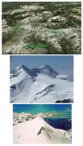 Cevedale Monte Civeta e Civs