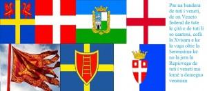 Bandera veneta de tuti i veneti