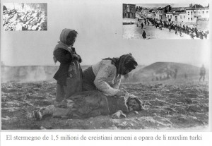Stermegno armeni creistiani a opara dei muxlim turki