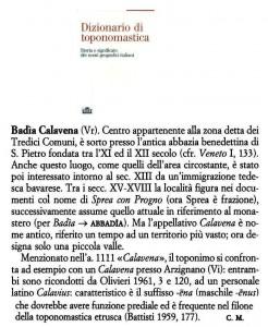 Badia Calavena