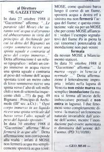 Lettera_Gazzettino_1988 No a ghè marea