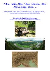 Albio, Alba, Albione, Elba, Alpi