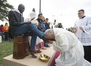 Papa e pie