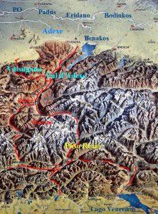 Adexe carta alpina