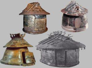Etruskisk langhus urne nr_2
