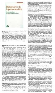 Medolago 456 Mazzo Valtellina UTET
