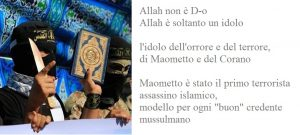 Allah non è D-o