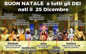 Bon Nadal a tuti li Dei e li Eroi