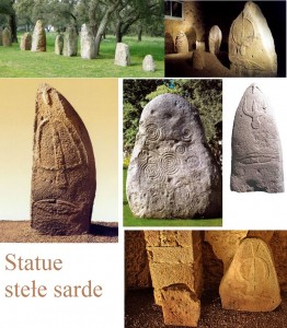 Statue stele sarde menhir