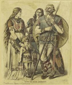 ancientgermanfamily