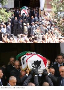 Sassari - Funerali privati di Francesco Cossiga - Cerimonia strettamente privata in Sardegna per il Presidente Emerito della Repubblica