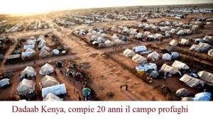dadaab Kenya, compie 20 anni il campo profughi