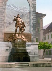 441px-Wilhelm_Tell_Denkmal_Altdorf_um_1900