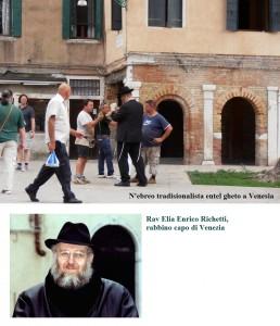 il movimento è dato dalle frange del rabbino