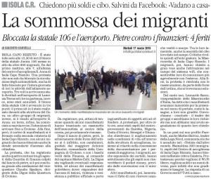 La somosa dei migranti