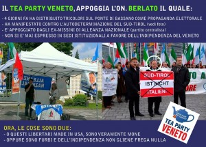 Tea Party Veneto e Berlato