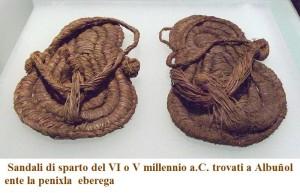 sandali de sparto