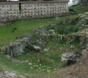 Trissino, i resti archeologici nel cimitero