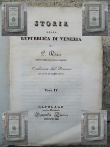 Storia de Venesia del Darù