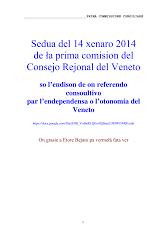 Consejo Rejonal 24 xenaro 2014
