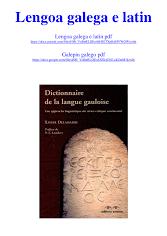 Lengoa galega e latin