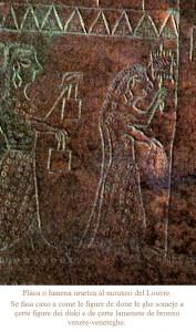 Placca urartea dal museo del Louvre