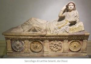 Sarcofago di Larthia Seianti, da Chiusi