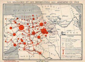 Mapa masacro armeni