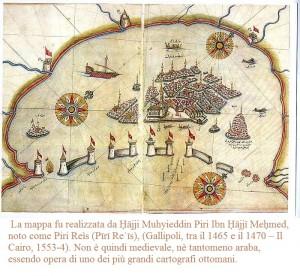 Mapa otomana de Venesia